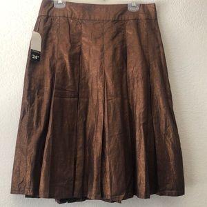 George mid length skirt